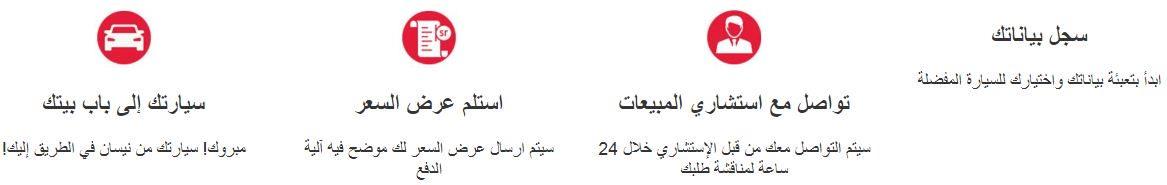 كيف اطلب سيارات نيسان السعودية